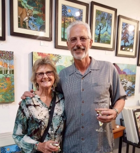 <h5>Our new mobile artist Paul Landis and his adorable wife Kaye</h5>
