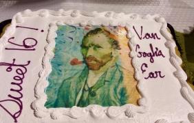 <h5>Sweet 16 for Van Gogh's Ear!</h5>