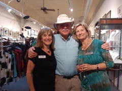 <p>Our lovely Joanne with Richard and his wife, Peggy, our Sales Expert.</p>