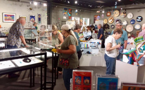 <p>The place was buzzing with excitement over art and music!</p>