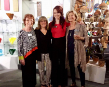 <p>The Gallery Girls - Christine, Joanne, Cody and Peggy having a great time together. </p>