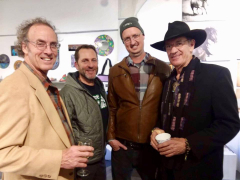 "<p>Looks like the ""Men's Club"" Michael Myers, Dan McCabe, Alex Horst and of course, Kit Carson</p>"