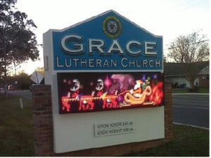 LED Signs for Churches