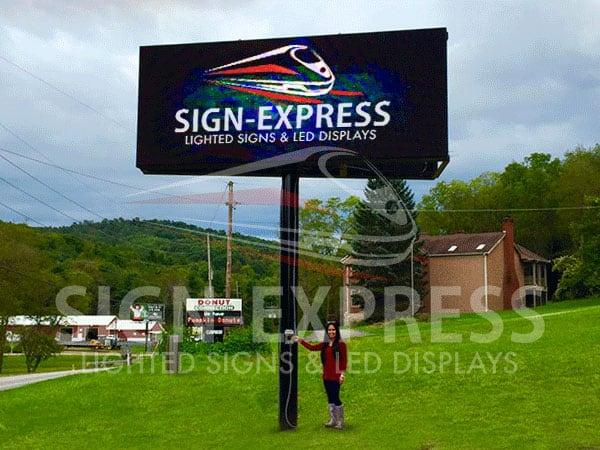 LED Billboard Installation