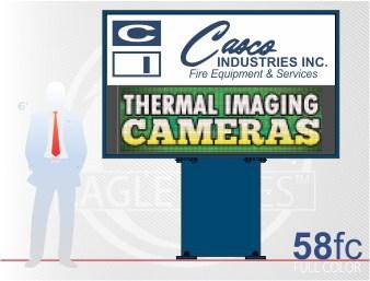 Affordable LED Sign Eagle 58 Full Color
