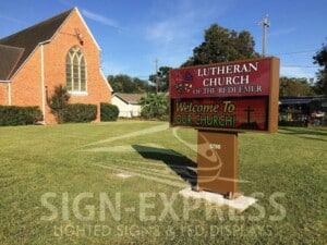 Affordable LED Church Signs