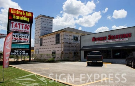 Kitchen-Solutions-Spring-Texas-Retail-LED-Sign-Install