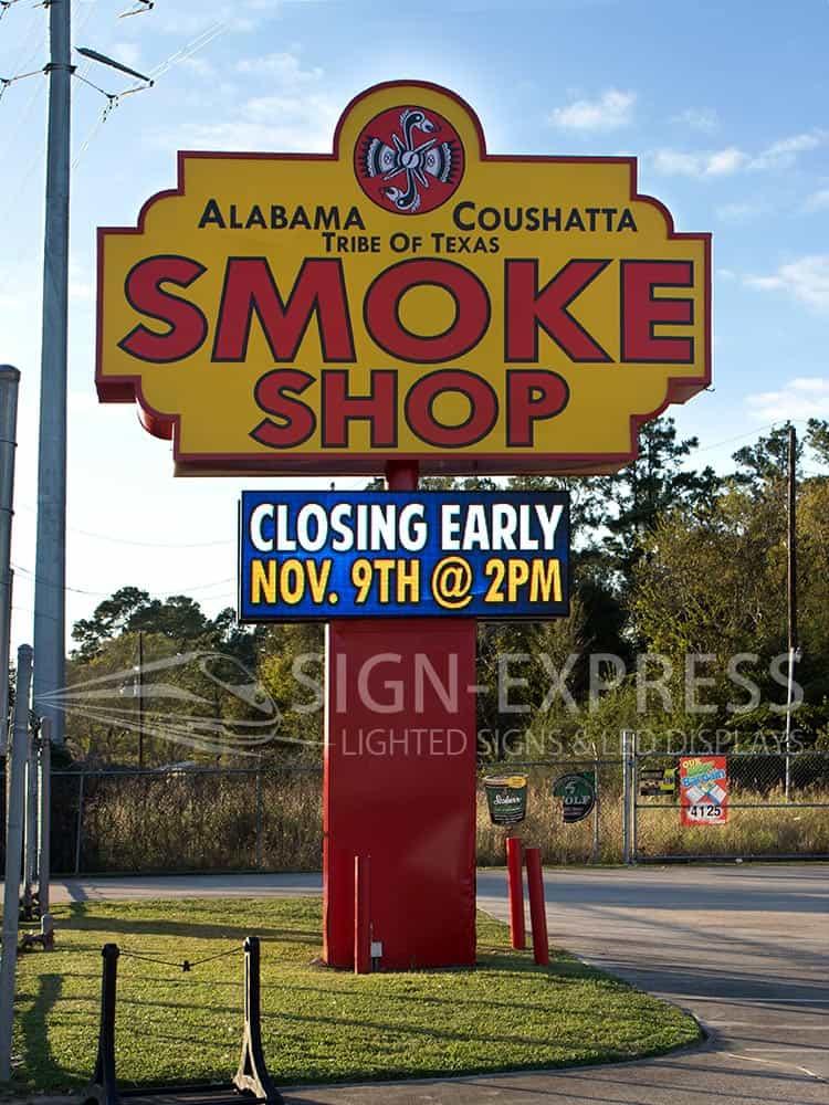 Alabama-Coushatta-Houston-Humble-Texas-New-LED-Sign