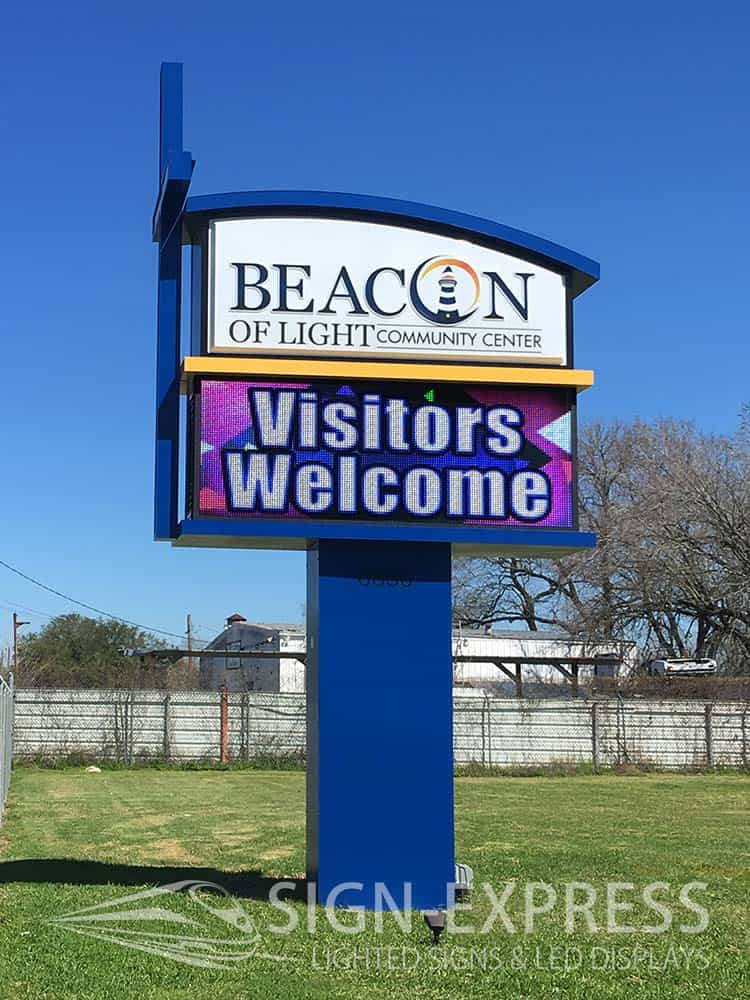 Beacon-of-Light-Houston-TX-Electronic-Church-Sign