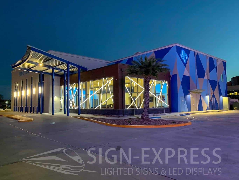 Texas-Eye-Care-Corpus-Christi-Texas-Decorative-LED-Lighting