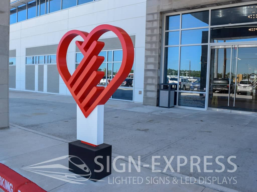 Non-Illuminated Logo Sign by Sign-Express
