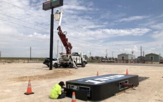 Permian 1 Stop Sign Install - Second Stage