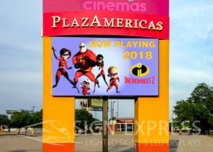 PlazAmericas Mall LED Billboard