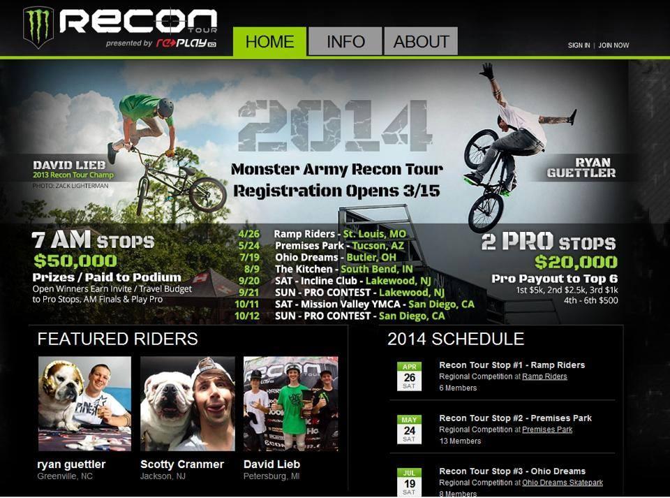 Recon Tour 2014