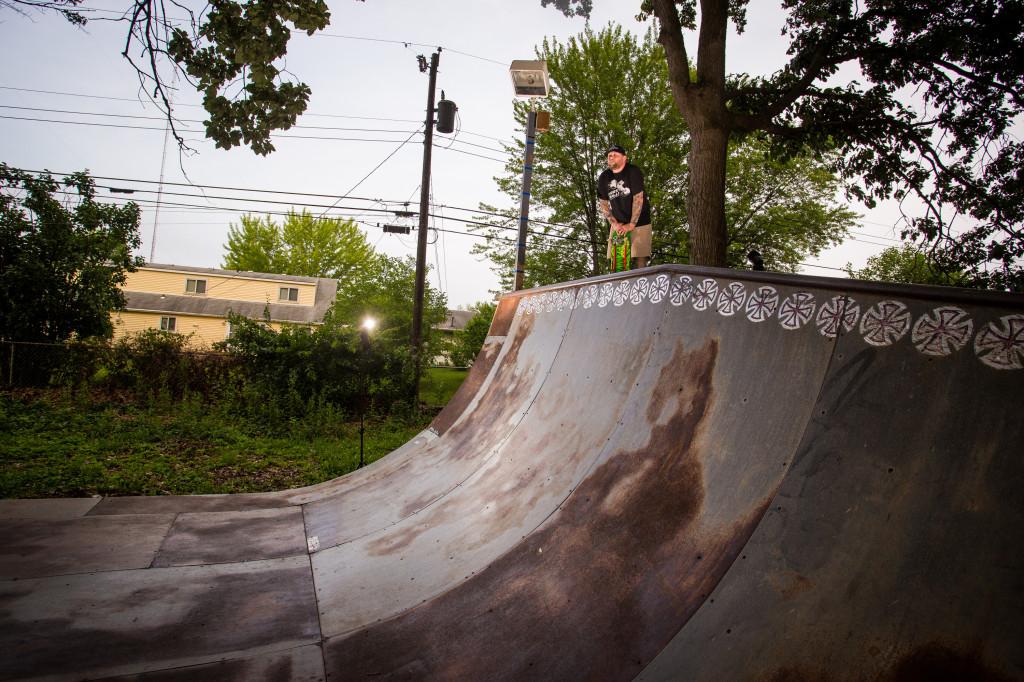 Dan Butler -Soaking up this ramp