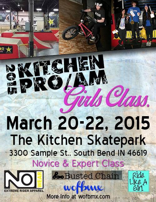 Girls Class Flyer