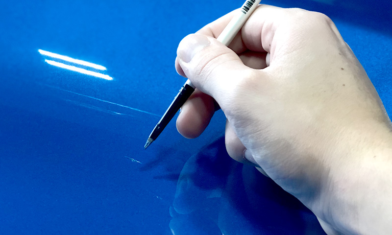 Dustbusters Auto Detailing - Services - Paint Chip Repair - Red Deer, Alberta