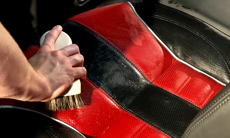 Dustbusters Auto Detailing - Homepage - Upholstery & Leather Cleaning - Red Deer, Alberta