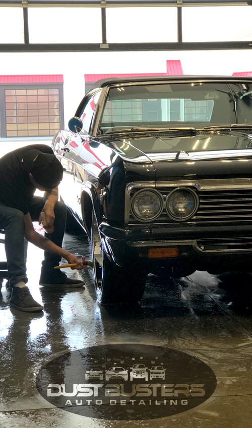 Dustbusters Auto Detailing About Us -Supporting Image Red Deer, Alberta