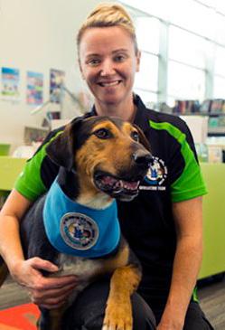 Children safe around dogs