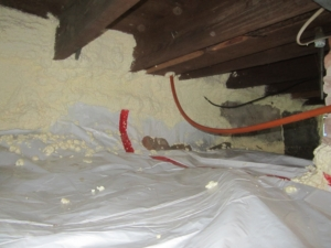 crawlspace_insulation_sprayfoam_fiberglass_vapor barrier_sillband insulation-air-seal_dirt floor_basement insulation_building envelope_energy savings_foundation_western ma_rim band insulation_pioneer valley_easthampton