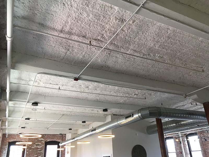 Retrofit Sound Proofing at a Holyoke Salon – Monoglass