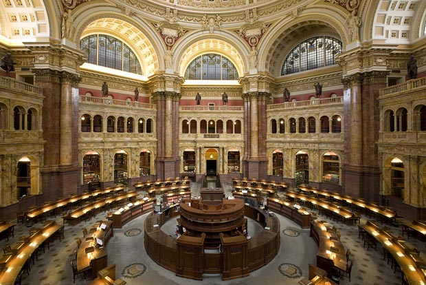 Big, Beautiful Libraries – 34 Library Pictures