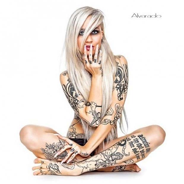 31 Models with Tattoos (Tattooed Models)