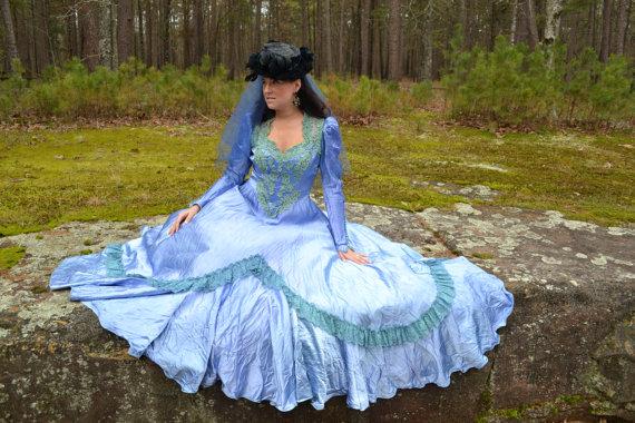 blue-green-dress