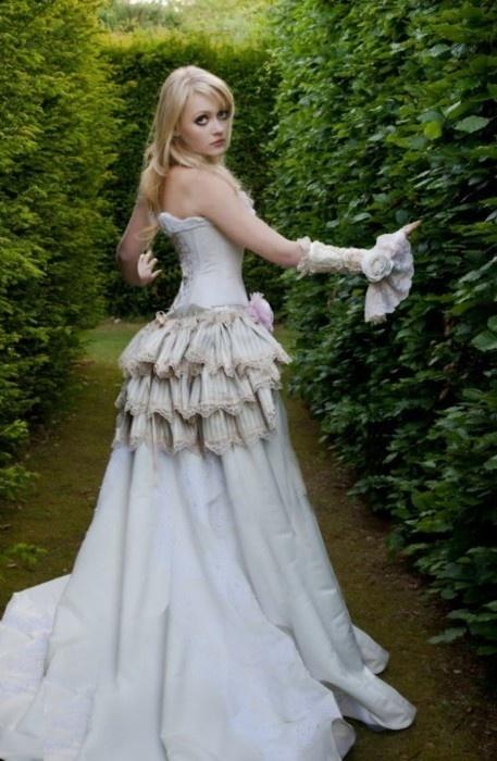 bustle-dress