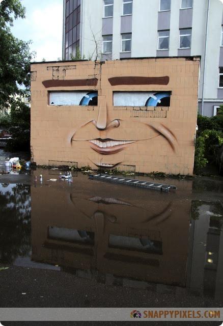 Cool Graffiti Art on Silos and Walls