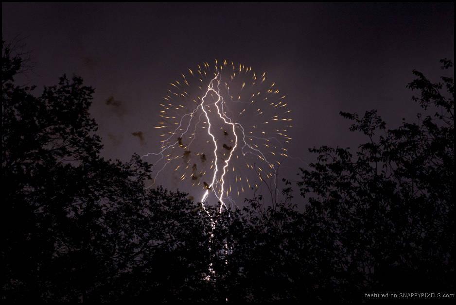 Fireworks and Lightning Photos