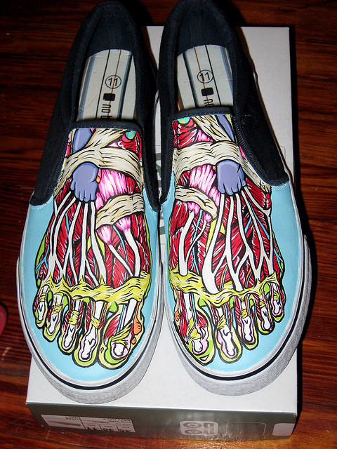 Fun, Funky, Cool Hand Painted Shoes