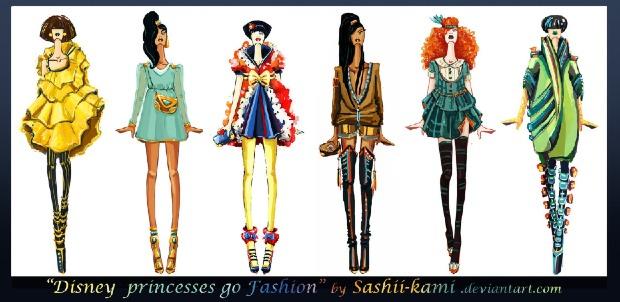 disney_princesses_go_fashion_i_by_sashii_kami-d52r1bd-picture