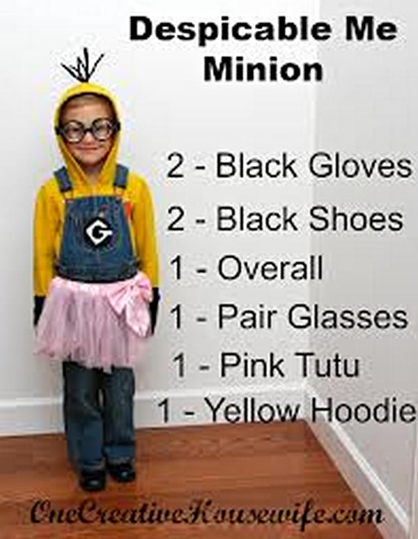 21 DIY Minion Costumes from Despicable Me for Halloween