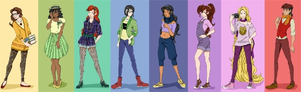 hipster_disney_princesses_by_mayanna-d4jz4s2-picture