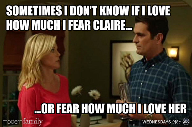 fear claire-funny-modern-family-memes-9
