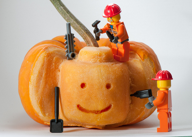 DIY Funny Carved Pumpkins and Jack-o-lanterns