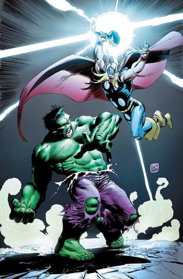thor vs hulk 3