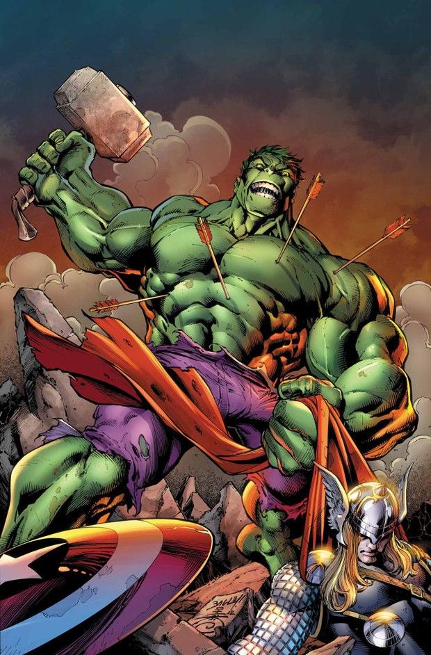 thor vs hulk 7