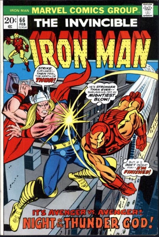 thor vs iron man 3