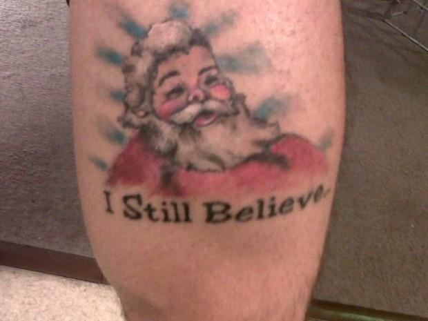 Christmas Tattoo 55