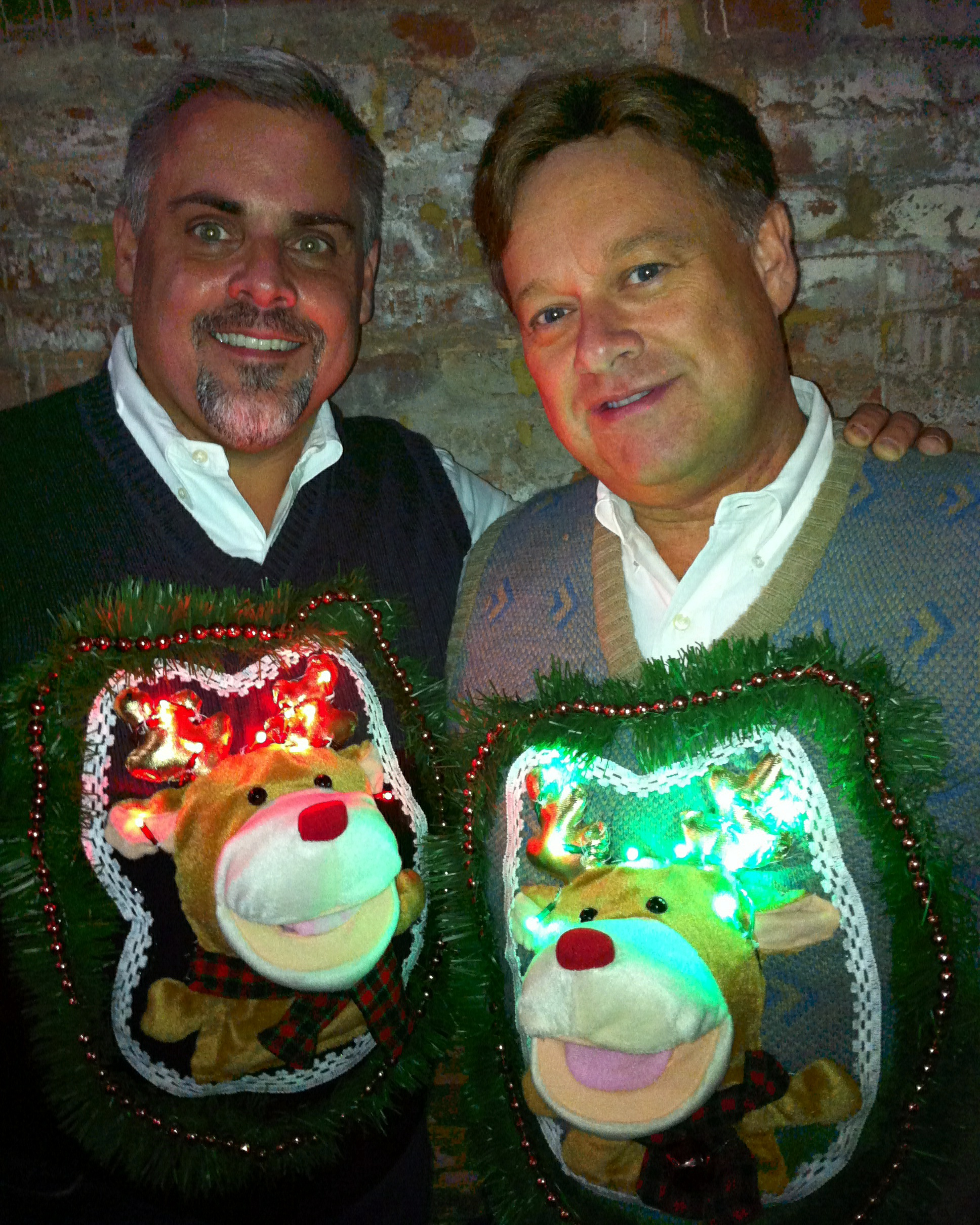 Light Up Rudolphs