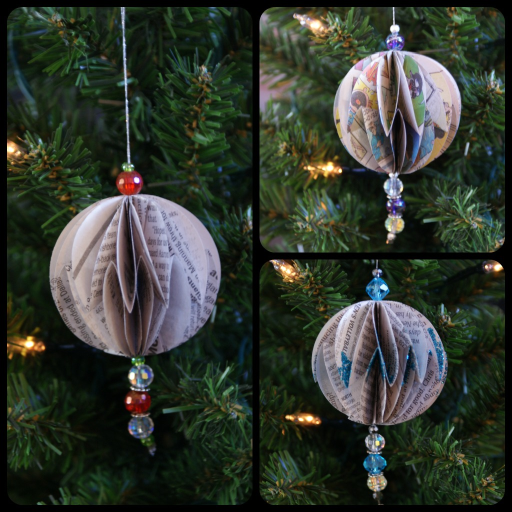 Newspaper-Ornaments