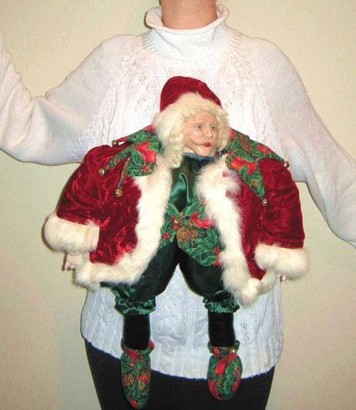 Santa 'Stache