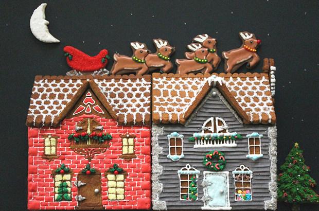 Simple-Inspiring  Gingerbread House Ideas-19