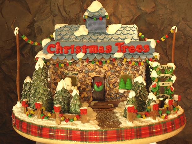 Simple-Inspiring  Gingerbread House Ideas-24