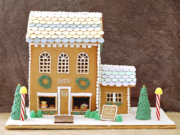 Simple-Inspiring  Gingerbread House Ideas-26