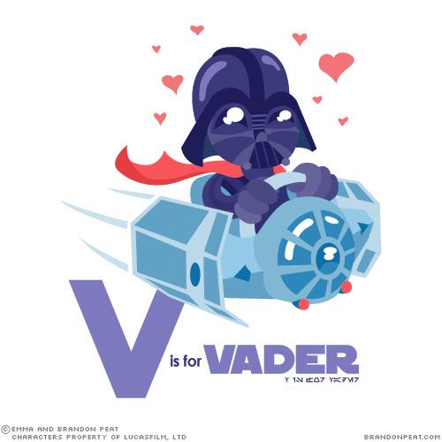 Star Wars Alphabet Artwork for Children