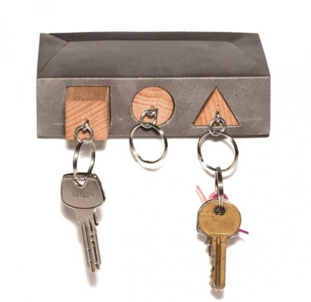 concrete-key-holder